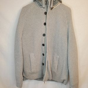 J. Lindberg Grey Winter Jacket w/removable hood